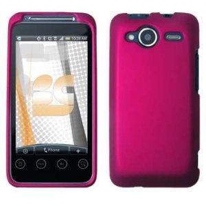 rose pink rubber case